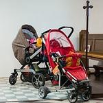 Babyschale mit Fahrgestell
